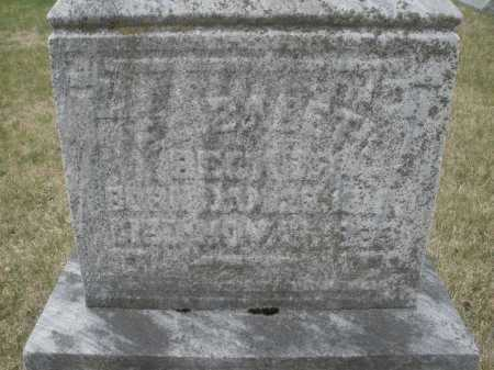 BECKER, ELIZABETH - Montgomery County, Ohio | ELIZABETH BECKER - Ohio Gravestone Photos