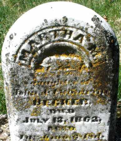BECKER, MARTHA M. - Montgomery County, Ohio   MARTHA M. BECKER - Ohio Gravestone Photos