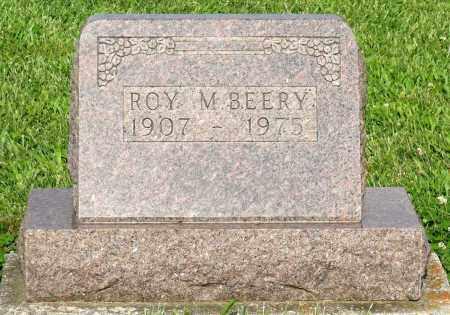 BEERY, ROY M. - Montgomery County, Ohio | ROY M. BEERY - Ohio Gravestone Photos