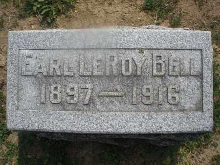 BELL, EARL LEROY - Montgomery County, Ohio   EARL LEROY BELL - Ohio Gravestone Photos