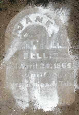 BELL, JANE - Montgomery County, Ohio | JANE BELL - Ohio Gravestone Photos