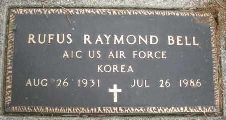 BELL, RUFUS RAYMOND - Montgomery County, Ohio | RUFUS RAYMOND BELL - Ohio Gravestone Photos