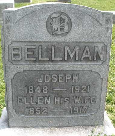 BELLMAN, JOSEPH - Montgomery County, Ohio | JOSEPH BELLMAN - Ohio Gravestone Photos