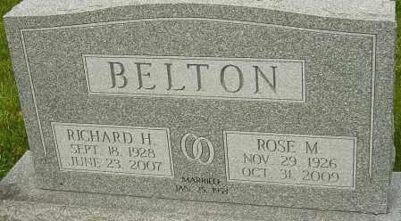 BELTON, RICHARD H - Montgomery County, Ohio | RICHARD H BELTON - Ohio Gravestone Photos