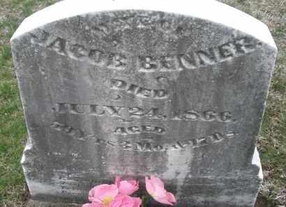 BENNER, JACOB - Montgomery County, Ohio   JACOB BENNER - Ohio Gravestone Photos