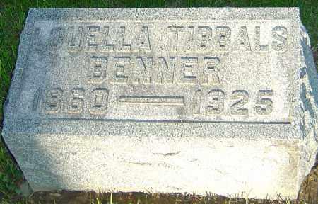 TIBBALS BENNER, LOUELLA - Montgomery County, Ohio | LOUELLA TIBBALS BENNER - Ohio Gravestone Photos