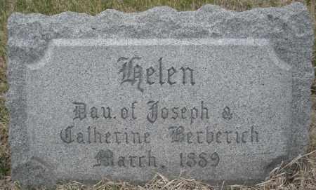 BERBERICH, HELEN - Montgomery County, Ohio   HELEN BERBERICH - Ohio Gravestone Photos