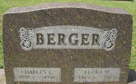 BERGER, CHARLES E. - Montgomery County, Ohio | CHARLES E. BERGER - Ohio Gravestone Photos