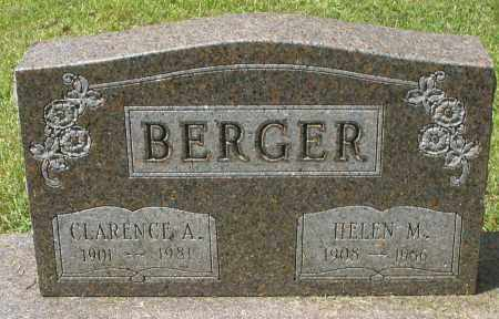 BERGER, CLARENCE A. - Montgomery County, Ohio | CLARENCE A. BERGER - Ohio Gravestone Photos