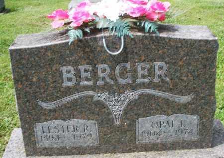 BERGER, OPAL I. - Montgomery County, Ohio | OPAL I. BERGER - Ohio Gravestone Photos