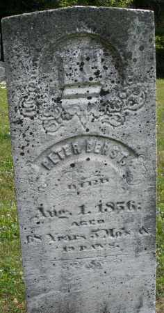 BERST, PETER - Montgomery County, Ohio | PETER BERST - Ohio Gravestone Photos