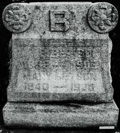 BETSON, MARY - Montgomery County, Ohio | MARY BETSON - Ohio Gravestone Photos