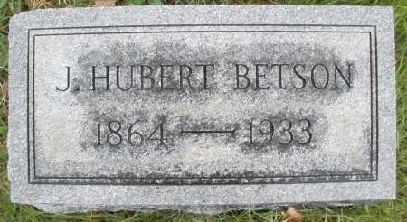 BETSON, J. HUBERT - Montgomery County, Ohio   J. HUBERT BETSON - Ohio Gravestone Photos