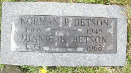 BETSON, NORMAN P. - Montgomery County, Ohio | NORMAN P. BETSON - Ohio Gravestone Photos