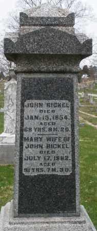 BICKEL, JOHN - Montgomery County, Ohio   JOHN BICKEL - Ohio Gravestone Photos