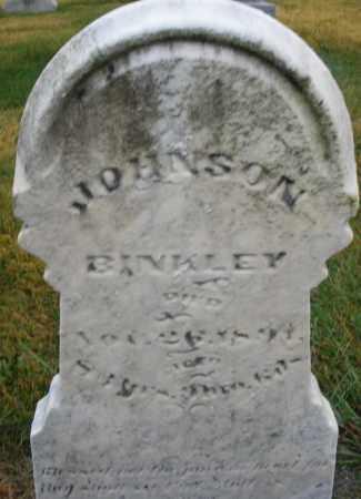 BINKLEY, JOHNSON - Montgomery County, Ohio | JOHNSON BINKLEY - Ohio Gravestone Photos