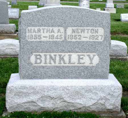 BINKLEY, MARTHA A. - Montgomery County, Ohio | MARTHA A. BINKLEY - Ohio Gravestone Photos