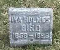 BIRD, IVA - Montgomery County, Ohio | IVA BIRD - Ohio Gravestone Photos