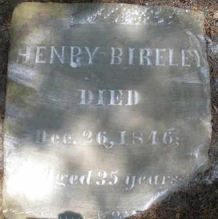 BIRELEY, HENRY - Montgomery County, Ohio | HENRY BIRELEY - Ohio Gravestone Photos