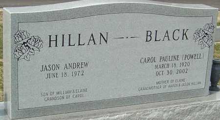 POWELL BLACK, CAROL PAULINE - Montgomery County, Ohio | CAROL PAULINE POWELL BLACK - Ohio Gravestone Photos
