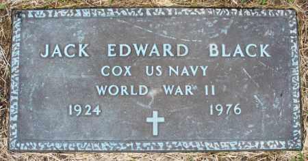 BLACK, JACK EDWARD - Montgomery County, Ohio   JACK EDWARD BLACK - Ohio Gravestone Photos