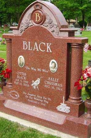 BLACK, OTTIS - Montgomery County, Ohio | OTTIS BLACK - Ohio Gravestone Photos