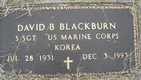 BLACKBURN, DAVID B. - Montgomery County, Ohio | DAVID B. BLACKBURN - Ohio Gravestone Photos