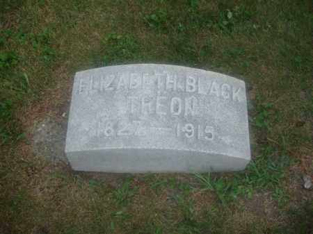 BLACK/TREON, ELIZABETH - Montgomery County, Ohio | ELIZABETH BLACK/TREON - Ohio Gravestone Photos