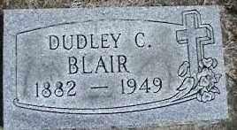 BLAIR, DUDLEY C. - Montgomery County, Ohio | DUDLEY C. BLAIR - Ohio Gravestone Photos