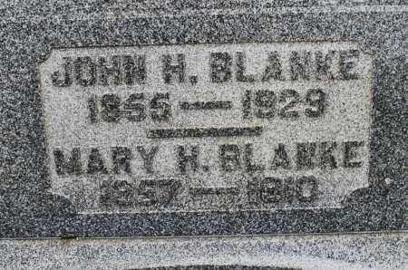 BLANKE, MARY H. - Montgomery County, Ohio | MARY H. BLANKE - Ohio Gravestone Photos