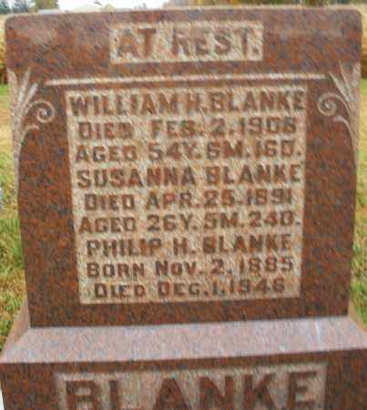 BLANKE, SUSANNA - Montgomery County, Ohio | SUSANNA BLANKE - Ohio Gravestone Photos