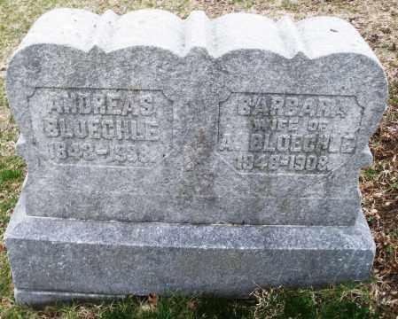 BLOECHLE, BARBARA - Montgomery County, Ohio   BARBARA BLOECHLE - Ohio Gravestone Photos