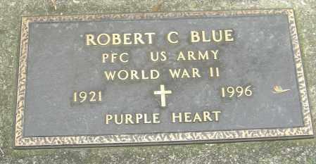 BLUE, ROBERT C - Montgomery County, Ohio | ROBERT C BLUE - Ohio Gravestone Photos