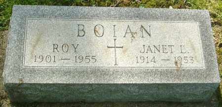 BOIAN, ROY - Montgomery County, Ohio | ROY BOIAN - Ohio Gravestone Photos