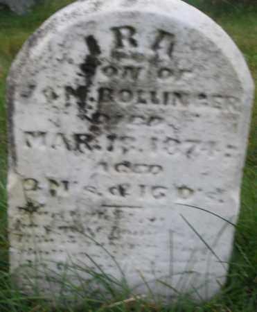 BOLINGER, IRA - Montgomery County, Ohio | IRA BOLINGER - Ohio Gravestone Photos