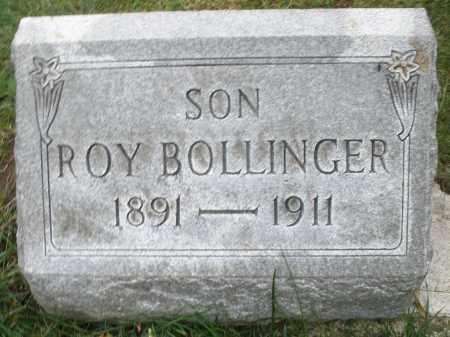 BOLLINGER, ROY - Montgomery County, Ohio | ROY BOLLINGER - Ohio Gravestone Photos