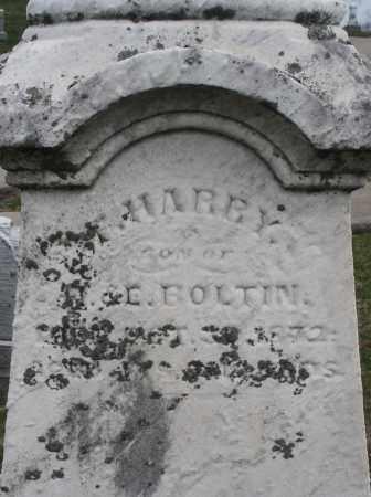 BOLTIN, HARRY - Montgomery County, Ohio   HARRY BOLTIN - Ohio Gravestone Photos