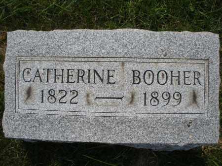 BOOHER, CATHERINE - Montgomery County, Ohio | CATHERINE BOOHER - Ohio Gravestone Photos