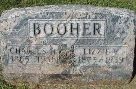 BOOHER, CHARLES H. - Montgomery County, Ohio | CHARLES H. BOOHER - Ohio Gravestone Photos