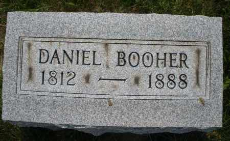 BOOHER, DANIEL - Montgomery County, Ohio   DANIEL BOOHER - Ohio Gravestone Photos