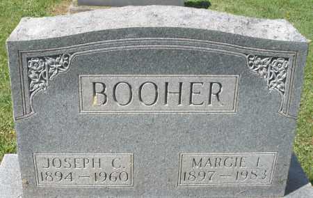 BOOHER, MARGIE L. - Montgomery County, Ohio | MARGIE L. BOOHER - Ohio Gravestone Photos