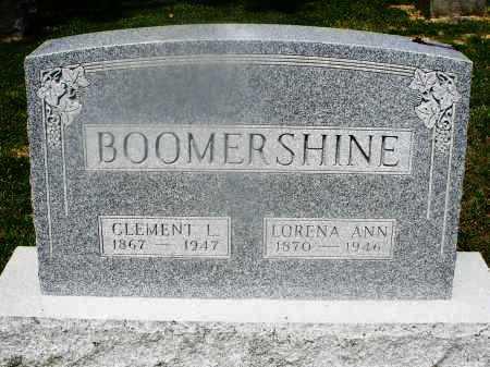 BOOMERSHINE, CLEMENT - Montgomery County, Ohio   CLEMENT BOOMERSHINE - Ohio Gravestone Photos