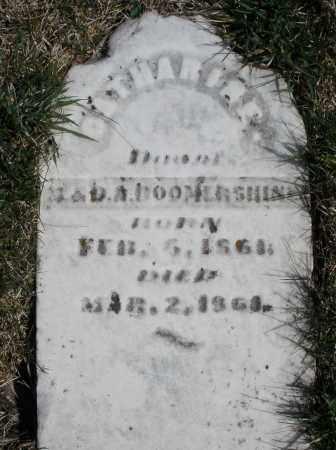 BOOMERSHINE, CATHARINE - Montgomery County, Ohio | CATHARINE BOOMERSHINE - Ohio Gravestone Photos