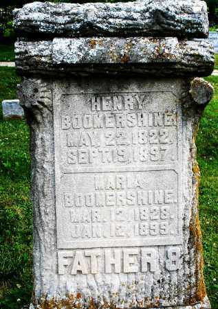 BOOMERSHINE, MARIA - Montgomery County, Ohio | MARIA BOOMERSHINE - Ohio Gravestone Photos