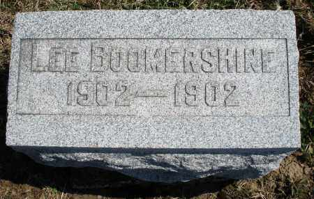 BOOMERSHINE, LEE - Montgomery County, Ohio   LEE BOOMERSHINE - Ohio Gravestone Photos