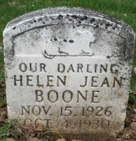 BOONE, HELEN JEAN - Montgomery County, Ohio   HELEN JEAN BOONE - Ohio Gravestone Photos