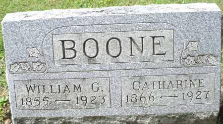 BOONE, WILLIAM G. - Montgomery County, Ohio | WILLIAM G. BOONE - Ohio Gravestone Photos