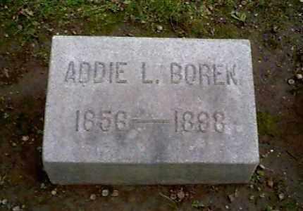 BOREN, ADDIE L. - Montgomery County, Ohio   ADDIE L. BOREN - Ohio Gravestone Photos