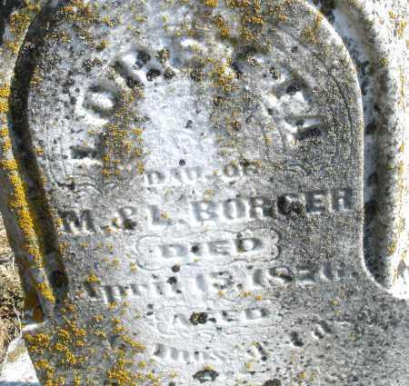 BORGER, LORETTA - Montgomery County, Ohio | LORETTA BORGER - Ohio Gravestone Photos