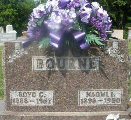 BOURNE, NAOMI I. - Montgomery County, Ohio | NAOMI I. BOURNE - Ohio Gravestone Photos